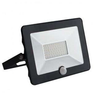 KANLUX 30326 | Grun Kanlux reflektor svjetiljka pravotkutnik sa senzorom elementi koji se mogu okretati 1x LED 2100lm 4000K IP65 crno