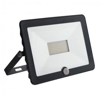 KANLUX 30327 | Grun Kanlux reflektor svjetiljka pravotkutnik sa senzorom elementi koji se mogu okretati 1x LED 3500lm 4000K IP65 crno