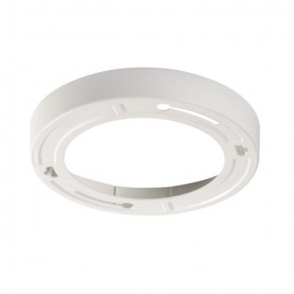 KANLUX 30383 | Kanlux okvir rezervni dijelovi okrugli bijelo
