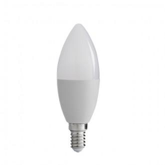 KANLUX 30442 | E14 8W -> 48W Kanlux oblik svijeće C37 LED izvori svjetlosti SMD 600lm 3000K 210°