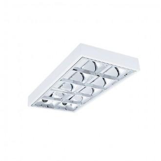 KANLUX 31060 | RSTR-LED Kanlux stropne svjetiljke armatura pravotkutnik namenjeno za izvor svjetlosti T8 LED 2x G13 / T8 LED UV bijelo