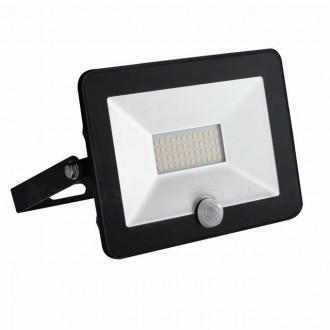 KANLUX 31067 | Grun Kanlux reflektor svjetiljka pravotkutnik sa senzorom elementi koji se mogu okretati 1x LED 1400lm 4000K IP65 crno