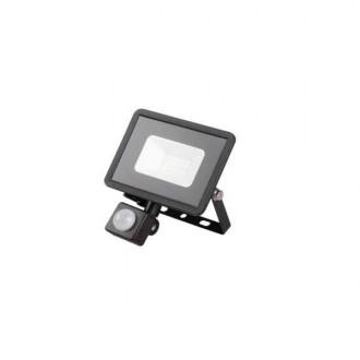KANLUX 31154 | Grun Kanlux reflektor svjetiljka pravotkutnik sa senzorom elementi koji se mogu okretati 1x LED 700lm 4000K IP44 crno