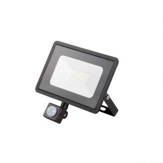 KANLUX 31155 | Grun Kanlux reflektor svjetiljka pravotkutnik sa senzorom elementi koji se mogu okretati 1x LED 1500lm 4000K IP44 crno