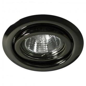 KANLUX 334 | Argus Kanlux ugradbena svjetiljka okrugli pomjerljivo Ø97mm 1x MR16 / GU5.3 grafit