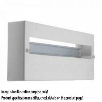KANLUX 3854 | Kanlux zidna radjelna kutija DIN35, 18P pravotkutnik IP30 IK06 bijelo