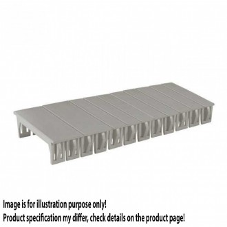 KANLUX 3859 | Kanlux poklopac DIN35 modul svjetlo siva