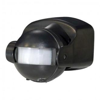 KANLUX 461 | Kanlux sa senzorom PIR 165° elementi koji se mogu okretati IP44 crno