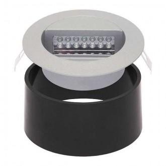 KANLUX 4680 | Dora-LED Kanlux ugradbena svjetiljka okrugli Ø126mm 1x LED 4000K IP65 sivo