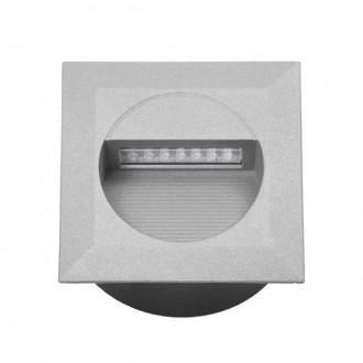 KANLUX 4681 | Linda-LED Kanlux ugradbena svjetiljka četvrtast 126x126mm 1x LED 4000K IP65 sivo