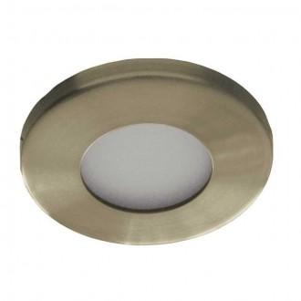 KANLUX 4710 | Marin Kanlux ugradbena svjetiljka okrugli Ø85mm 1x MR16 / GU5.3 IP44/20 antik bakar