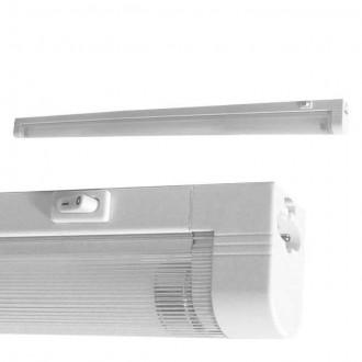 KANLUX 4732 | Mera Kanlux zidna, stropne svjetiljke svjetiljka s prekidačem 1x G5 / T5 4000K bijelo