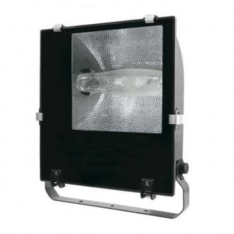 KANLUX 4842 | Adamo-MTH Kanlux reflektor svjetiljka elementi koji se mogu okretati 1x E40 IP65 crno, prozirno