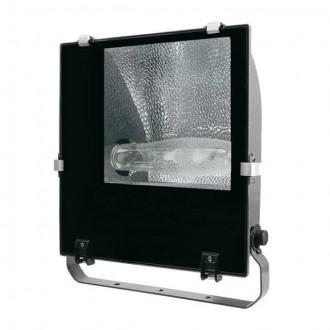 KANLUX 4845 | Adamo-MTH Kanlux reflektor svjetiljka elementi koji se mogu okretati 1x E40 IP65 crno, prozirno