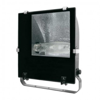 KANLUX 4846 | Adamo-MTH Kanlux reflektor svjetiljka elementi koji se mogu okretati 1x E40 IP65 crno, prozirno