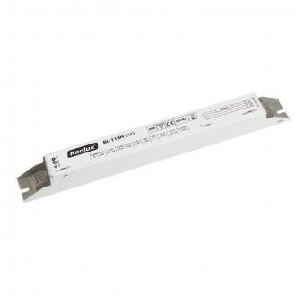 KANLUX 70480 | Kanlux uređaj za stabilizaciju 1x18W T8 prigušnica pravotkutnik bijelo
