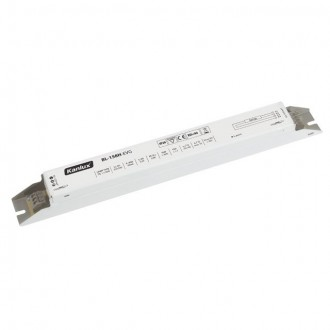KANLUX 70482 | Kanlux uređaj za stabilizaciju 1x58W T8 prigušnica pravotkutnik bijelo