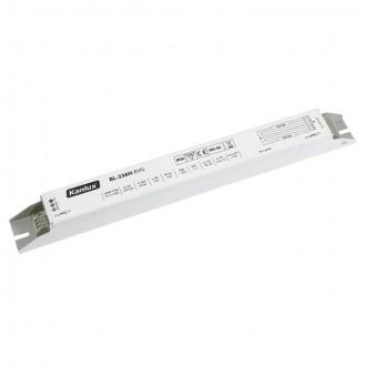 KANLUX 70484 | Kanlux uređaj za stabilizaciju 2x36W T8 prigušnica pravotkutnik bijelo