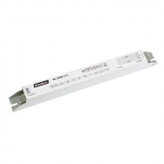 KANLUX 70485 | Kanlux uređaj za stabilizaciju 2x58W T8 prigušnica pravotkutnik bijelo