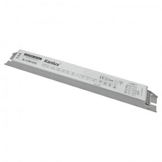 KANLUX 70486 | Kanlux uređaj za stabilizaciju 4x18W T8 prigušnica pravotkutnik bijelo