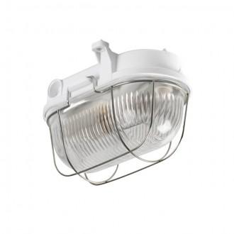 KANLUX 70524 | Hermi Kanlux zidna, stropne svjetiljke svjetiljka 1x E27 IP54 IK06 sivo