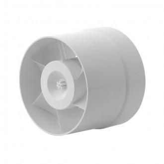 KANLUX 70900 | Kanlux kanalski ventilator Ø100 100m3/h okrugli toplinski osigurač IP24 bijelo