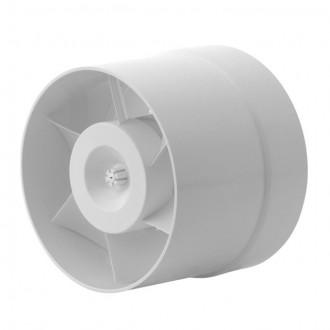 KANLUX 70903 | Kanlux kanalski ventilator Ø150 200m3/h okrugli toplinski osigurač IP24 bijelo