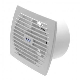 KANLUX 70921 | Kanlux kanalski ventilator Ø150 200m3/h pravotkutnik bez žaluzine, toplinski osigurač IP24 UV bijelo