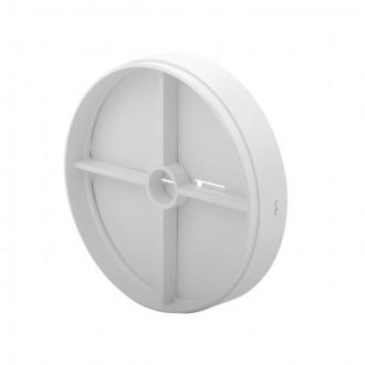 KANLUX 70961 | Kanlux leptirasti ventil Ø100 za kanalni ventilator okrugli UV bijelo