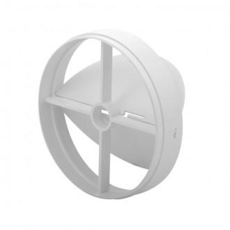 KANLUX 70962 | Kanlux leptirasti ventil Ø120 za kanalni ventilator okrugli UV bijelo