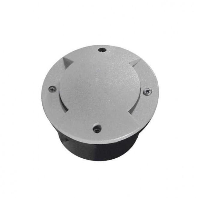 KANLUX 7281 | Roger1 Kanlux ugradbena svjetiljka okrugli Ø100mm 1x LED 6000 - 6500K IP66 IK09 sivo