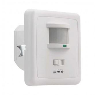 KANLUX 7690 | Kanlux sa senzorom PIR 150° ugradbene svjetiljke četvrtast s prekidačem bijelo