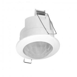 KANLUX 7691 | Kanlux sa senzorom PIR 360° ugradbene svjetiljke okrugli bijelo