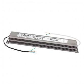 KANLUX 7800 | Kanlux LED napojna jedinica 12V DC 0-30W 2,5A pravotkutnik IP66 krom