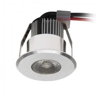 KANLUX 8103 | Haxa Kanlux ugradbena svjetiljka okrugli Ø42mm 1x LED 2700 - 3200K aluminij