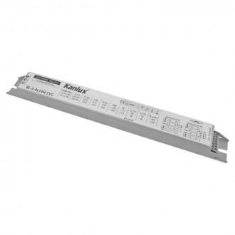 KANLUX 8240 | Kanlux uređaj za stabilizaciju 3x14W / 4x14W T5/T8 prigušnica pravotkutnik bijelo