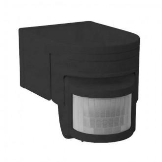 KANLUX 8391 | Kanlux sa senzorom PIR 160° elementi koji se mogu okretati IP44 crno