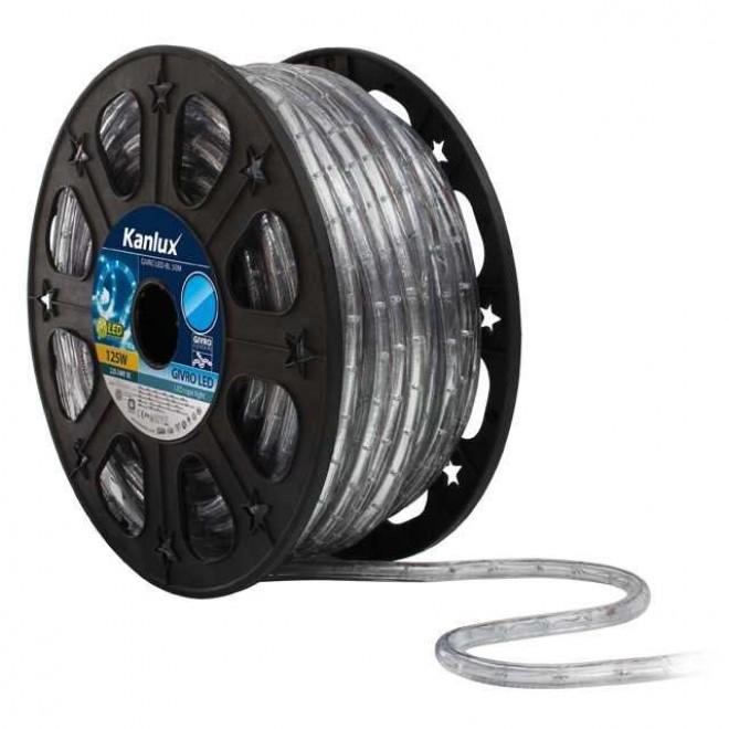 KANLUX 8631 | Givro Kanlux svijetleća cijev plavo svjetleći kabel - 50 m 25x LED IP44 plavo