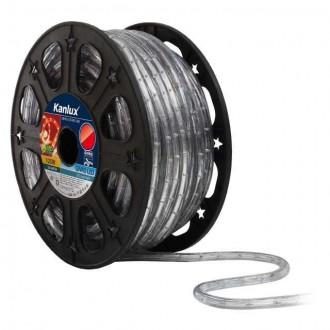 KANLUX 8632 | Givro Kanlux svijetleća cijev crveno svjetleći kabel - 50 m 25x LED IP44 crveno
