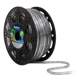 KANLUX 8633 | Givro Kanlux svijetleća cijev zeleno svjetleći kabel - 50 m 25x LED IP44 zeleno