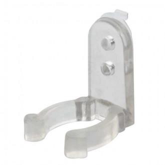 KANLUX 8640 | Kanlux pribor plastična štipaljka za fiksiranje svjetlećeg kabla set od 10 komada IP44 prozirno