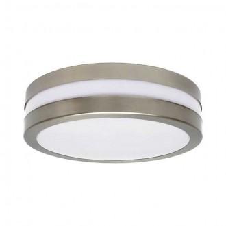KANLUX 8980 | Jurba Kanlux zidna, stropne svjetiljke svjetiljka okrugli 2x E27 IP44 IK10 UV kromni mat, bijelo