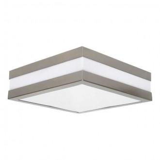 KANLUX 8981 | Jurba Kanlux zidna, stropne svjetiljke svjetiljka četvrtast 2x E27 IP44 IK10 UV kromni mat, bijelo