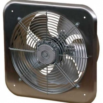 KANLUX C300 | Kanlux industrijski ventilator Ø320 1520m3/h četvrtast IP24 UV inox