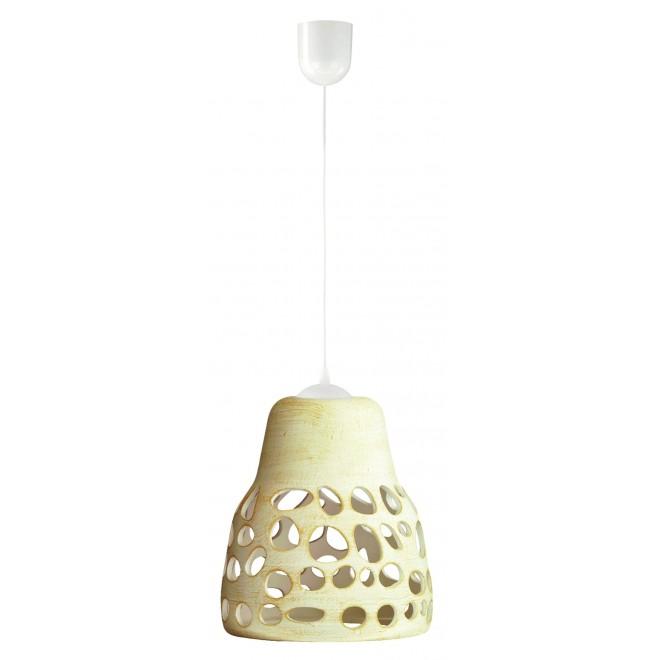 LAMPEX 002/1 KRE | Wiszaca Lampex visilice svjetiljka 1x E27 krem