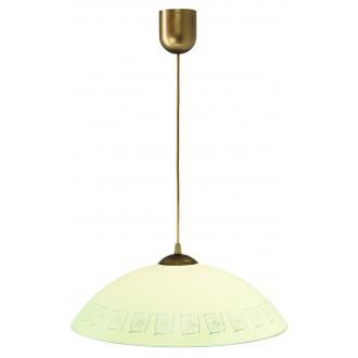 LAMPEX 013/F | Lampex-Pendant Lampex visilice svjetiljka 1x E27 patinasto, krem