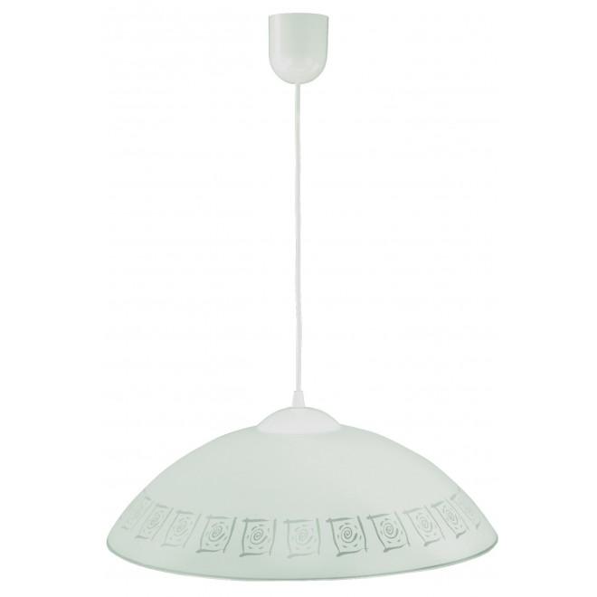 LAMPEX 013/G   Lampex-Pendant Lampex visilice svjetiljka 1x E27 bijelo, sivo