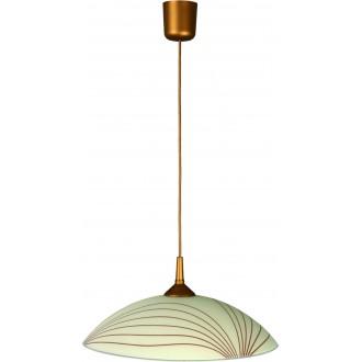 LAMPEX 013/L | Lampex-Pendant Lampex visilice svjetiljka 1x E27 patinasto, krem