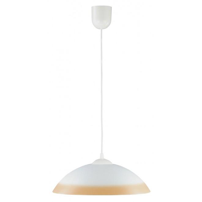 LAMPEX 013/R | Lampex-Pendant Lampex visilice svjetiljka 1x E27 bijelo, narančasto