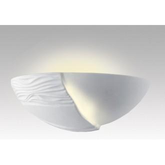 LAMPEX 014/B | Ceramic Lampex zidna svjetiljka 1x E27 bijelo